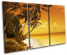 Beach Sunset Seascape - 13-1461(00B)-TR32-LO